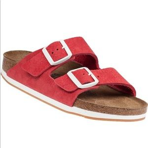 Birkenstock Arizona Suede Sandal Sz 40